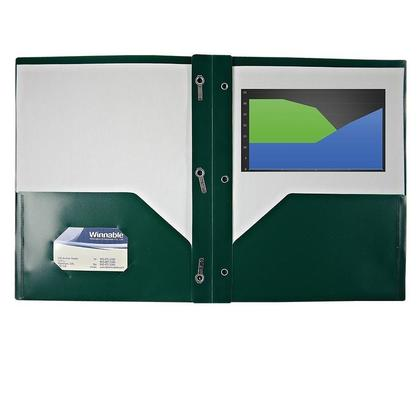 Winnable@ Poly Tang Report Cover - Green (738013)