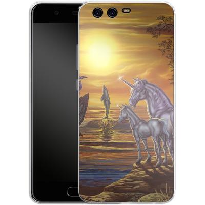 Huawei P10 Silikon Handyhuelle - Ed Beard Jr - Mystical Occurance von TATE and CO