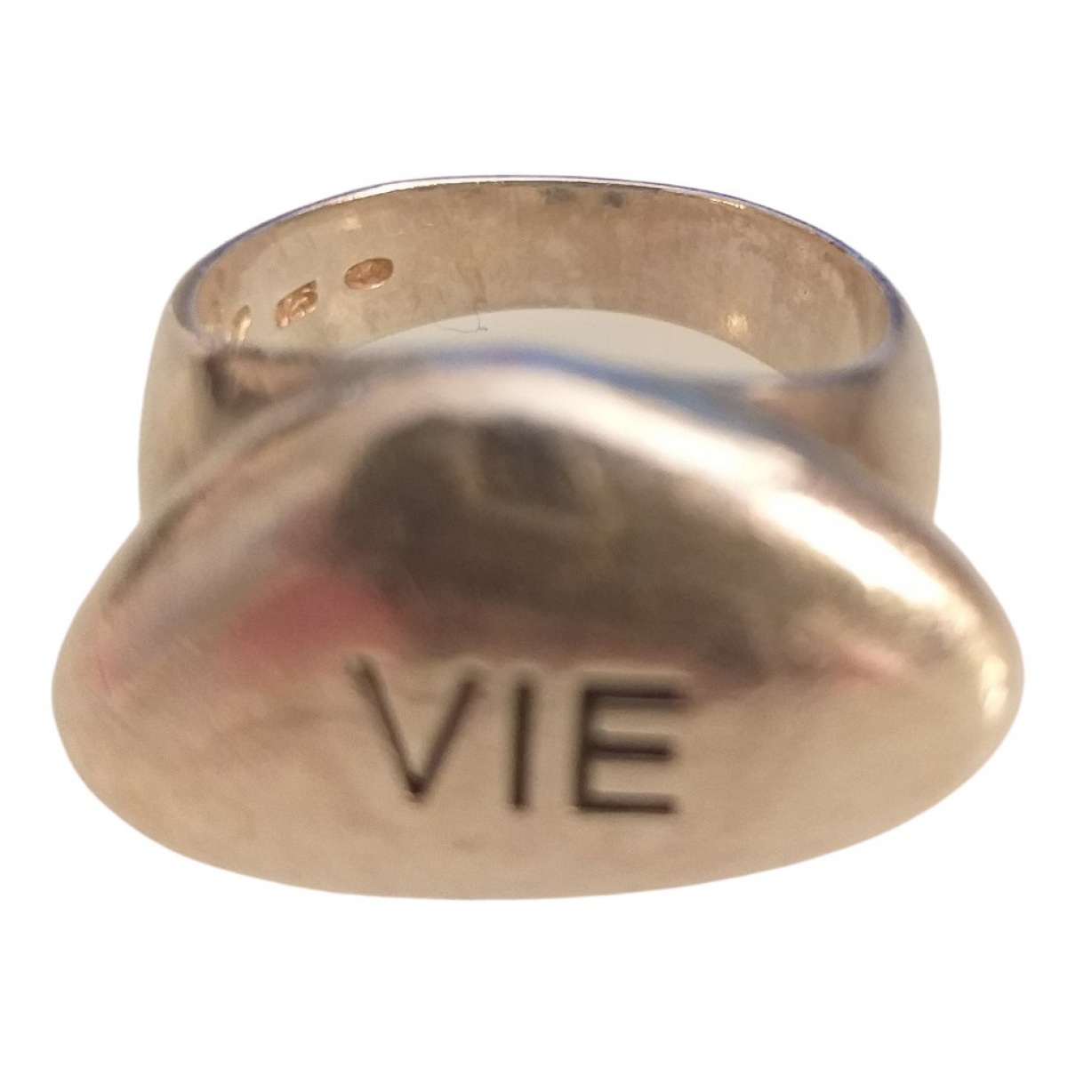 Reminiscence \N Ring in  Silber Silber