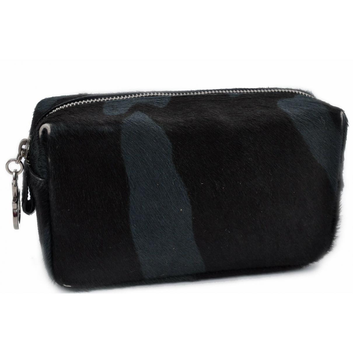 Salvatore Ferragamo \N Black Pony-style calfskin Travel bag for Women \N