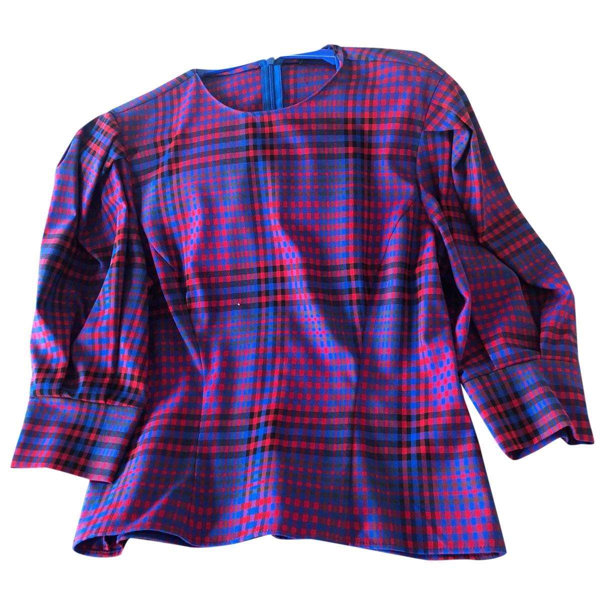 Zara \N Blue Cotton  top for Women 32 FR