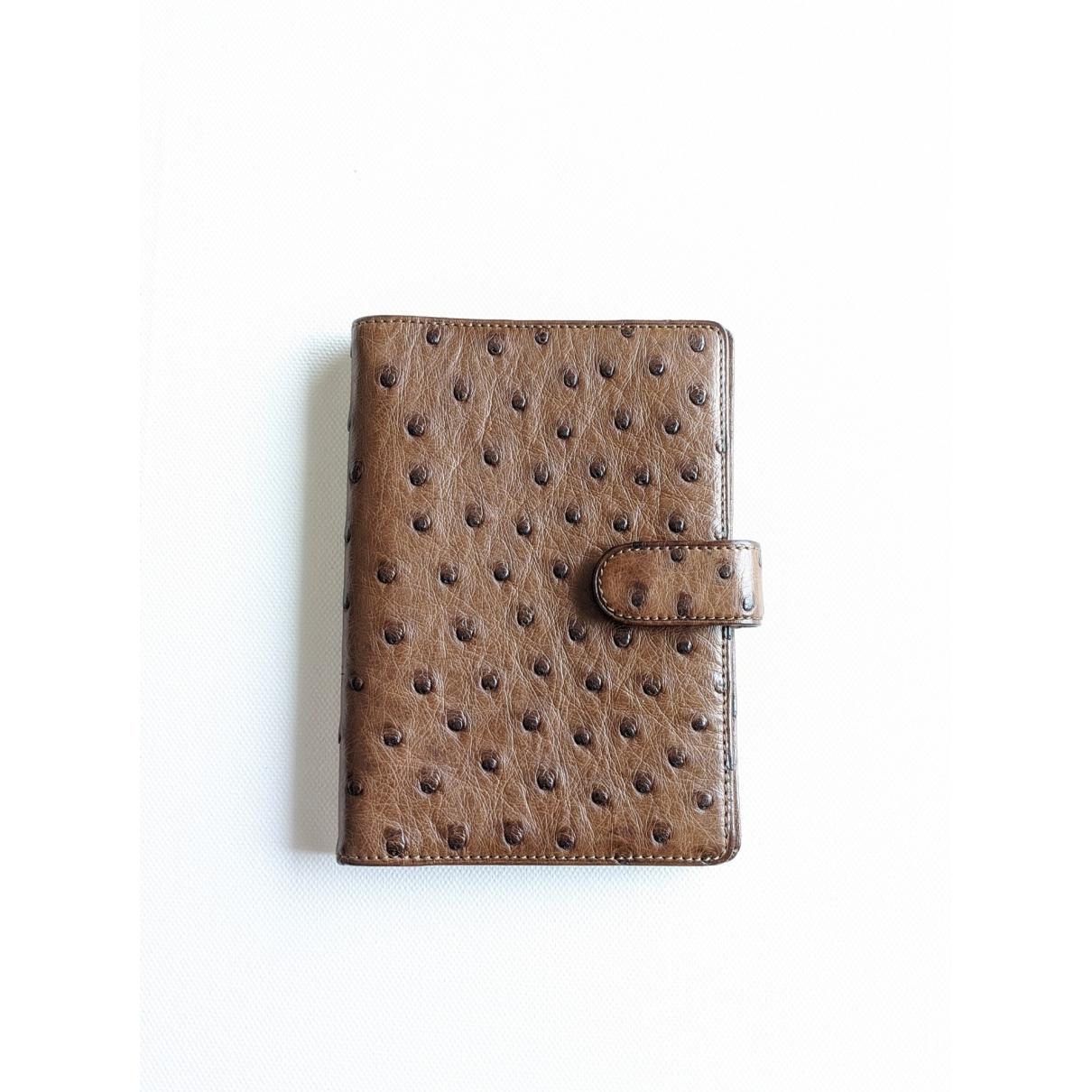 Louis Vuitton - Objets & Deco   pour lifestyle en autruche - marron