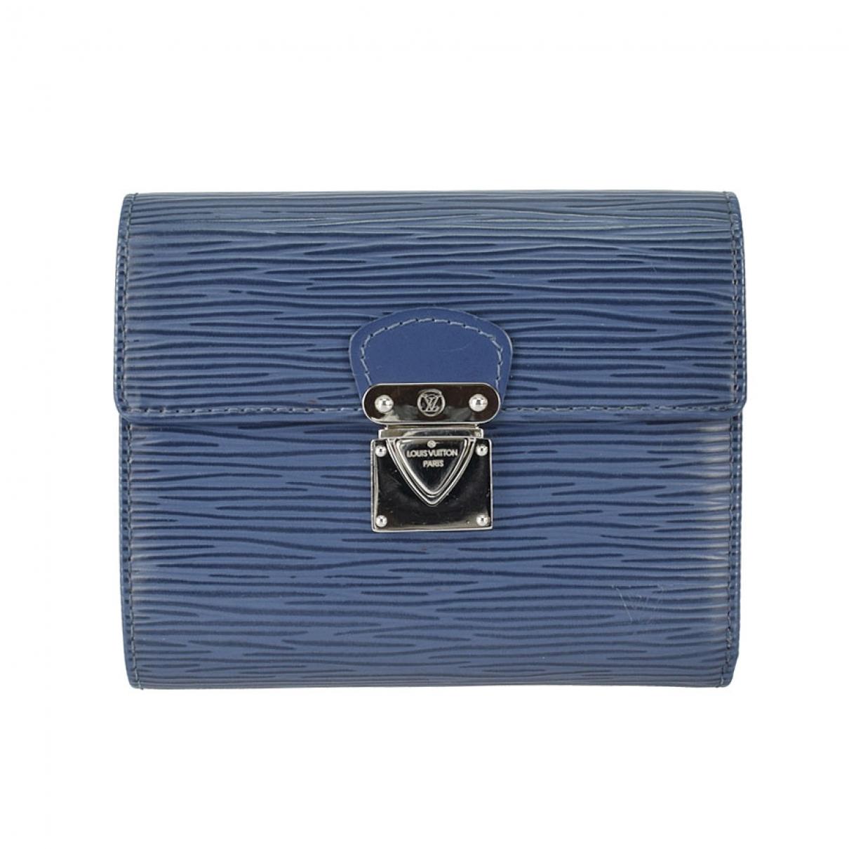 Louis Vuitton - Portefeuille Koala pour femme en cuir - bleu