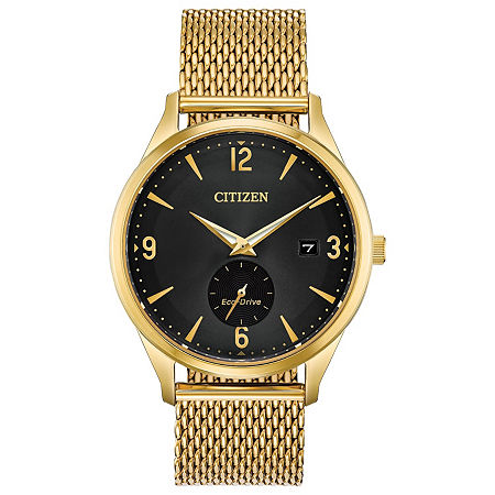 Drive from Citizen Mens Gold Tone Stainless Steel Bracelet Watch - Bv1112-56e, One Size , No Color Family