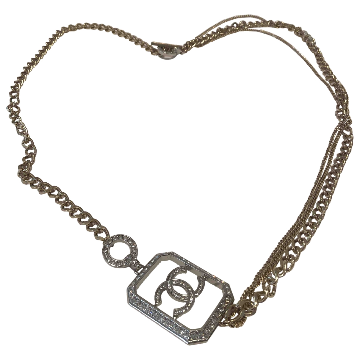 Chanel \N Gold gold and steel necklace for Women \N