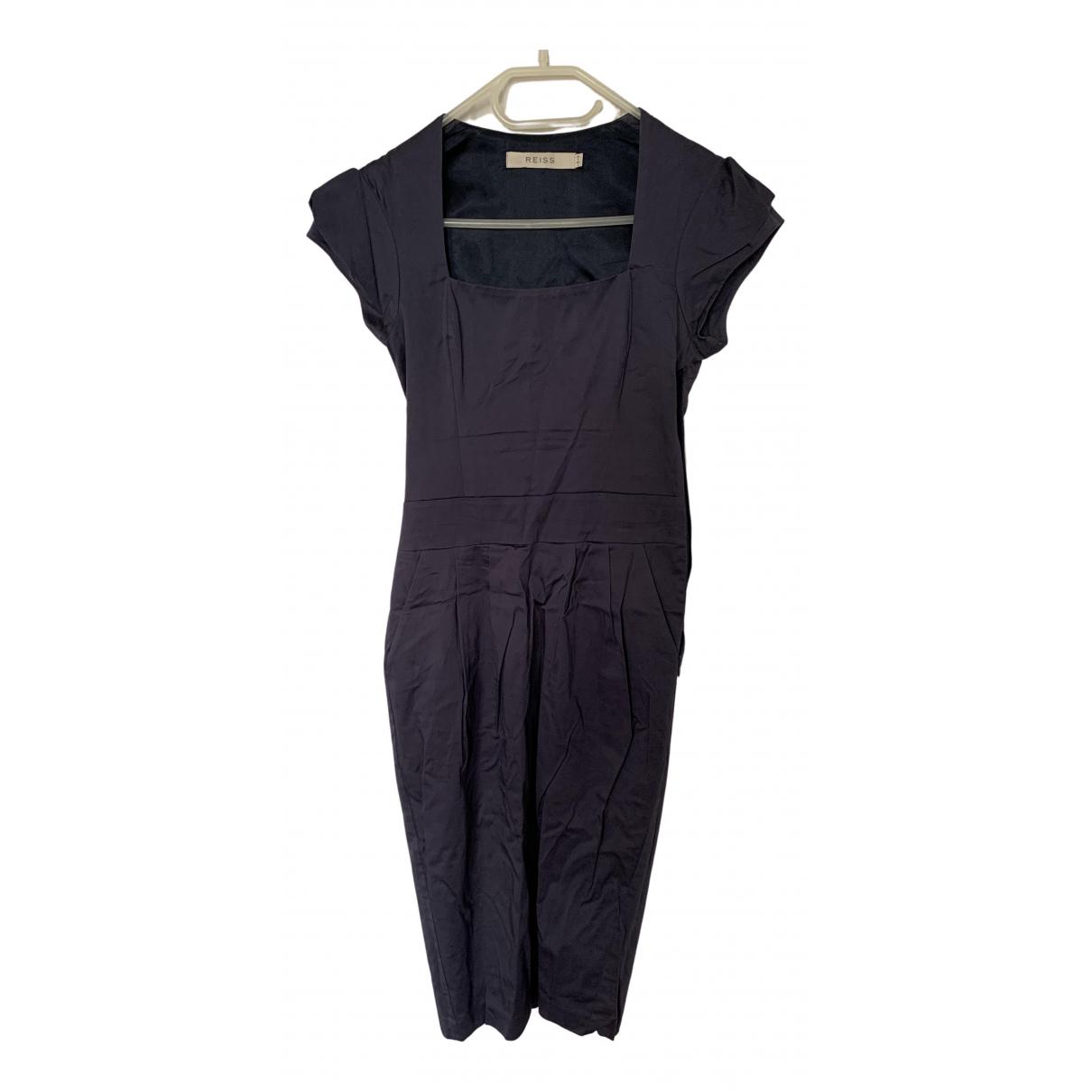 Reiss - Robe   pour femme en coton - violet