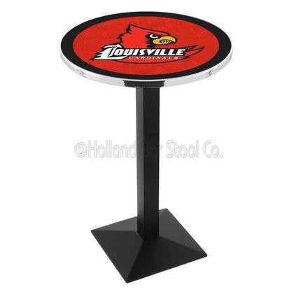 L217B42Lville 42 Black Wrinkle Louisville Logo Pub