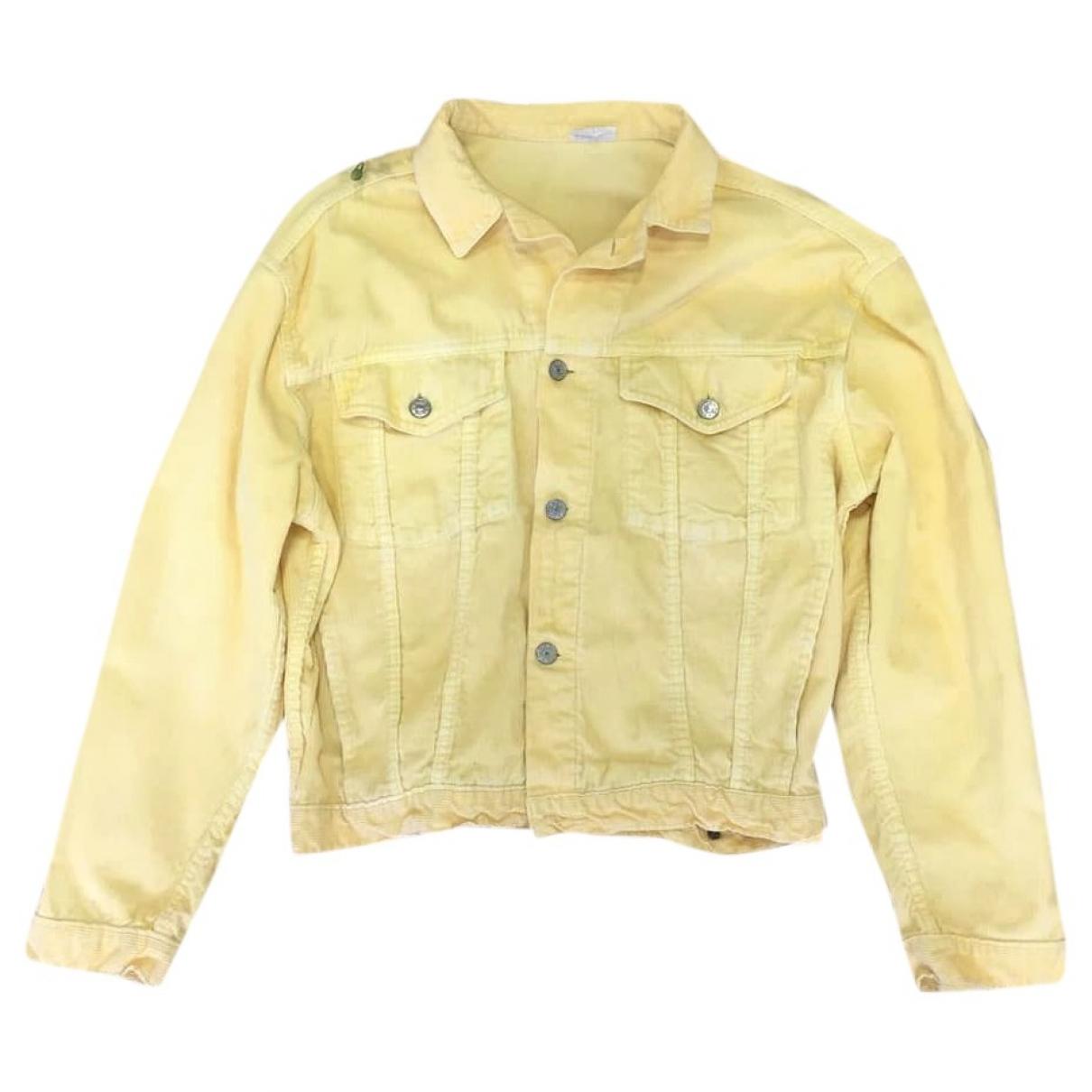 - Veste   pour femme en coton - jaune
