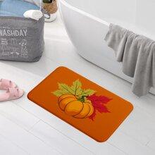 Bodenmatte mit Kuerbis Muster