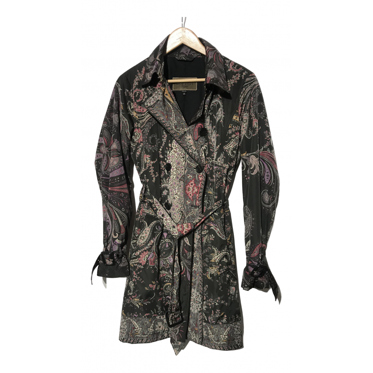 Etro \N Trench in  Bunt Polyester