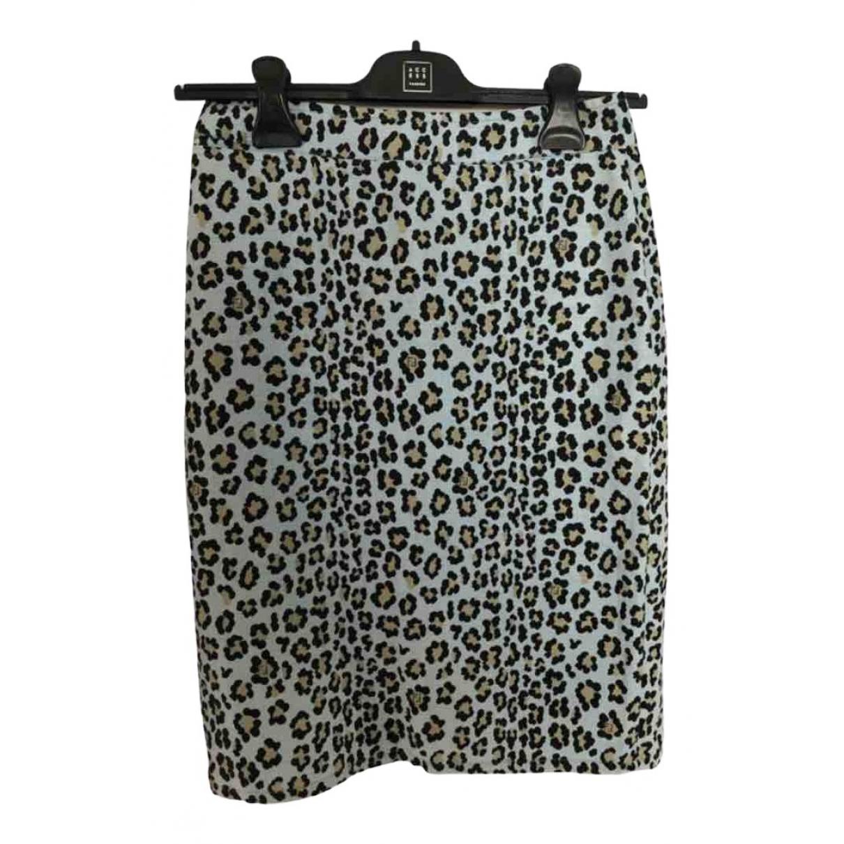 Fendi N Multicolour Cotton skirt for Women 42 IT