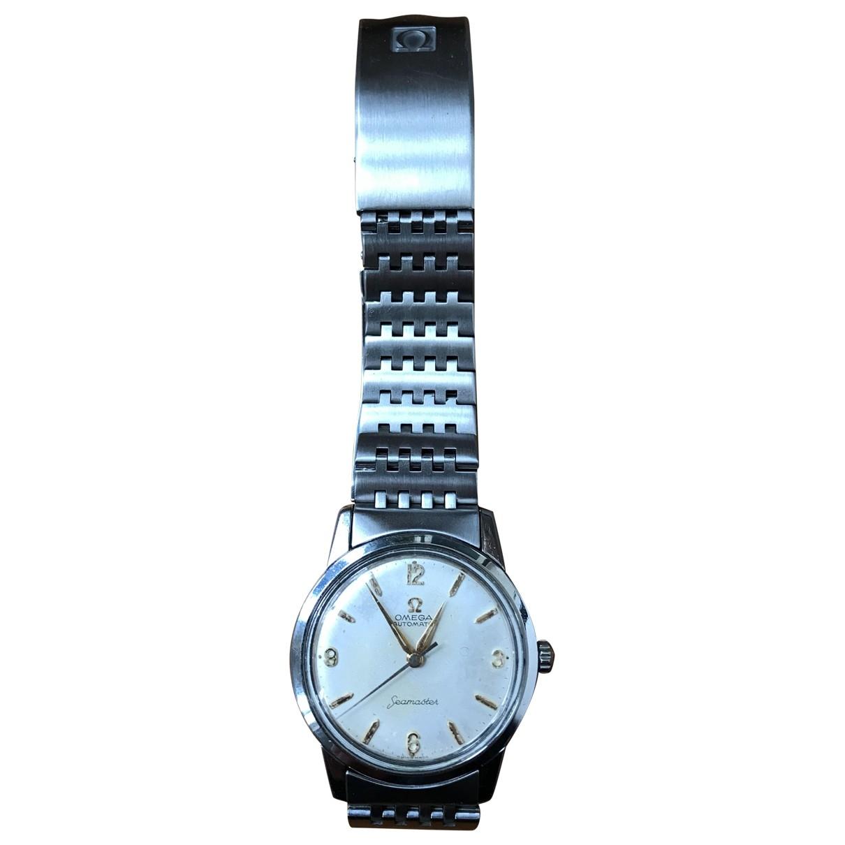 Omega Seamaster Silver Steel watch for Men \N
