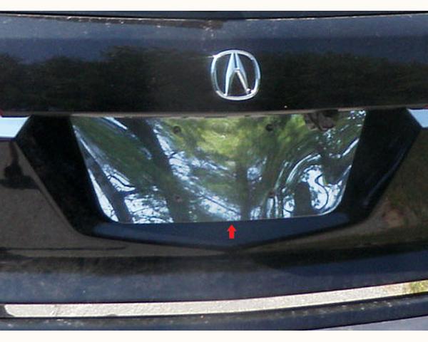 Quality Automotive Accessories 1-Piece License Plate Bezel Acura MDX 2012
