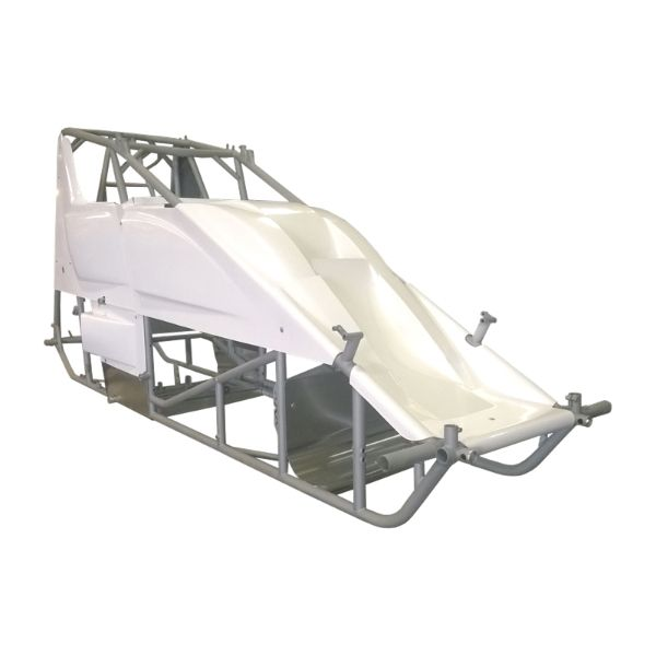 Triple X Race Components TXRSC-CH-1001-87-2H Sprint Car Kit B (Body & Tin) X-Wedge Design