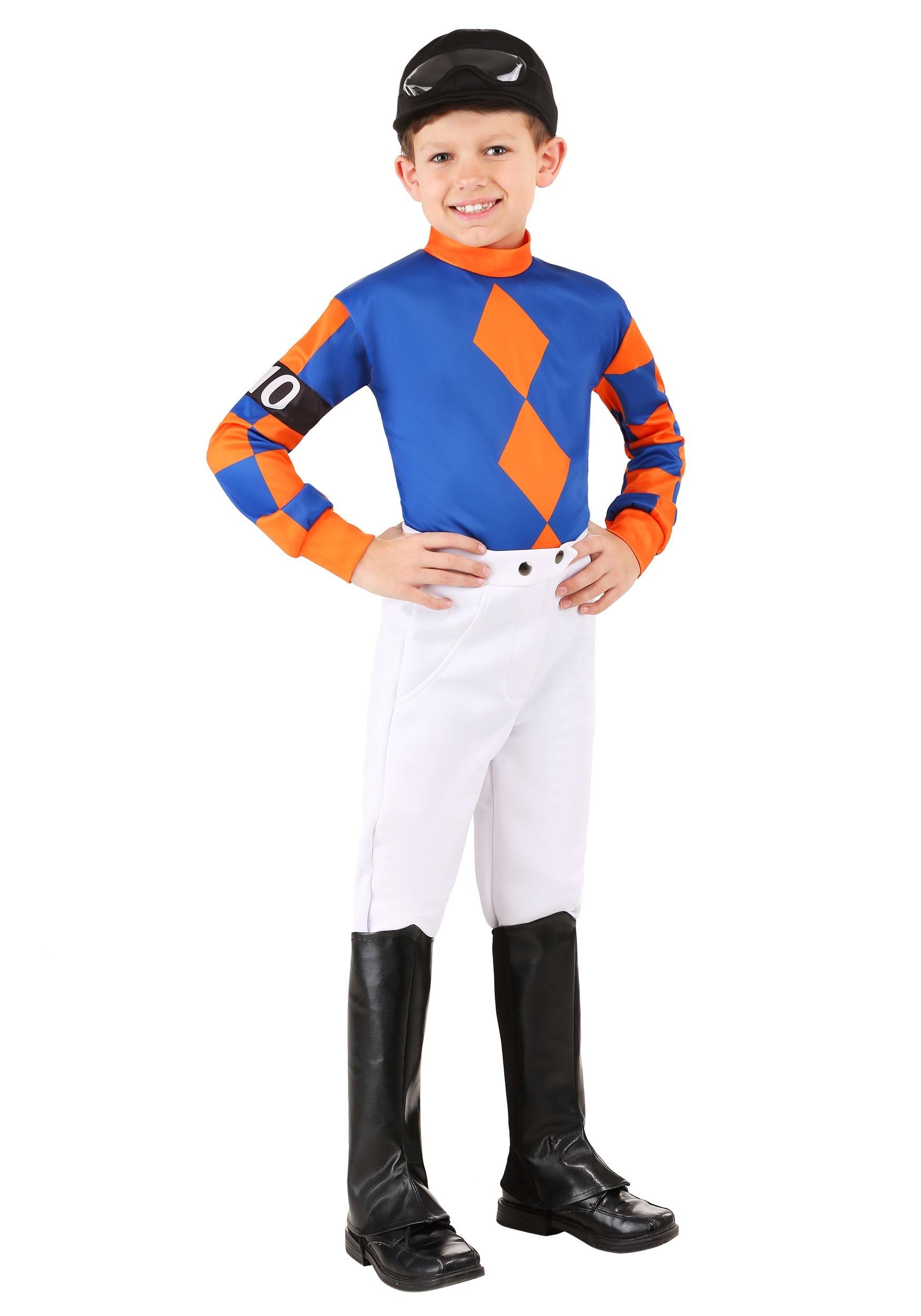 Kentucky Derby Jockey Boy's Costume