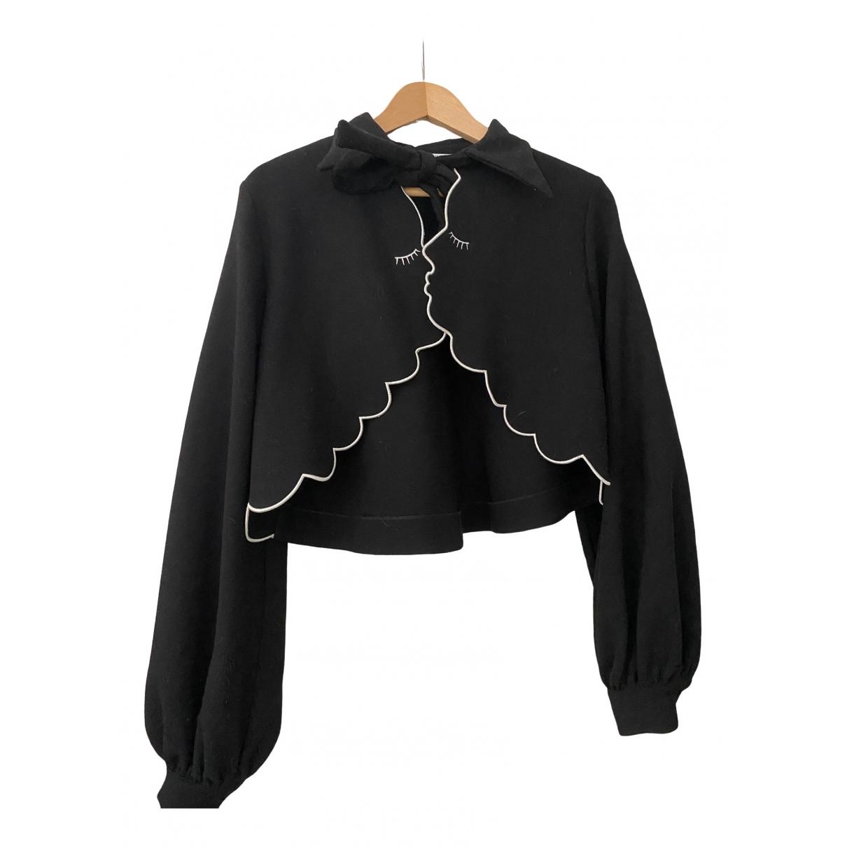 Vivetta - Veste   pour femme en laine - noir