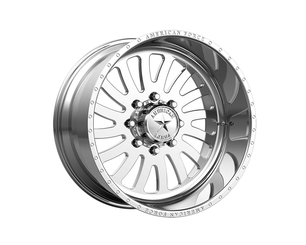 American Force AFTE74LD22-1-21 AFW 74 Octane SS Wheel 20x12 8x8x165.1 -40mm Polished