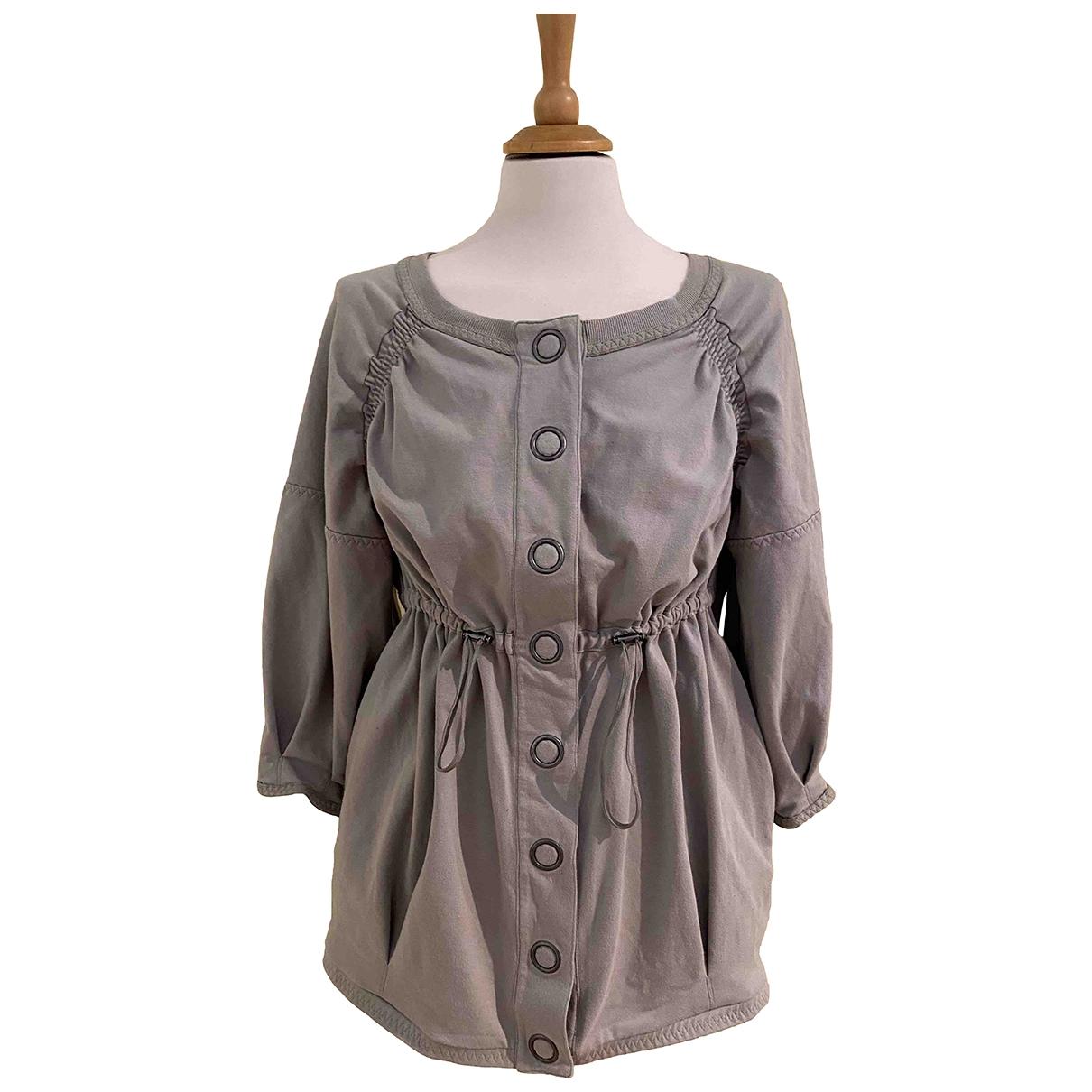 Stella Mccartney Pour Adidas - Veste   pour femme en coton - gris