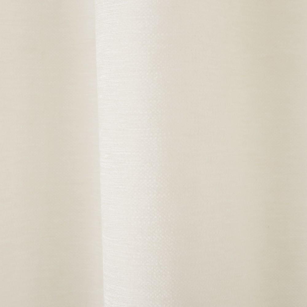 Osenvorhang aus ecrufarbenem Samt, 1 Vorhang 140x300