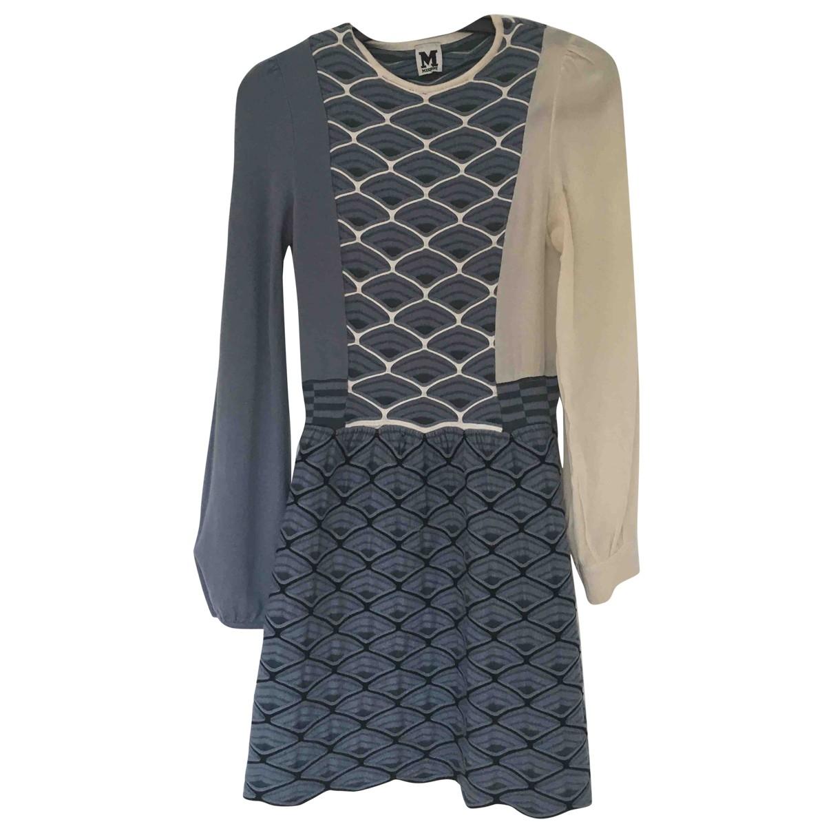 M Missoni \N Kleid in  Blau Synthetik