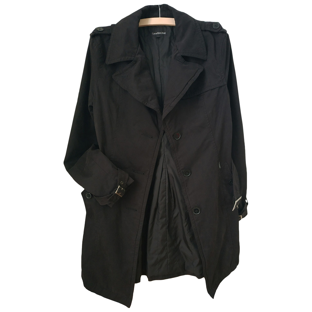 Calvin Klein \N Black jacket for Women M International
