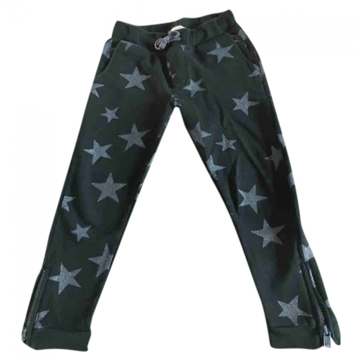 Stella Mccartney Kids \N Green Cotton Trousers for Kids 5 years - up to 108cm FR