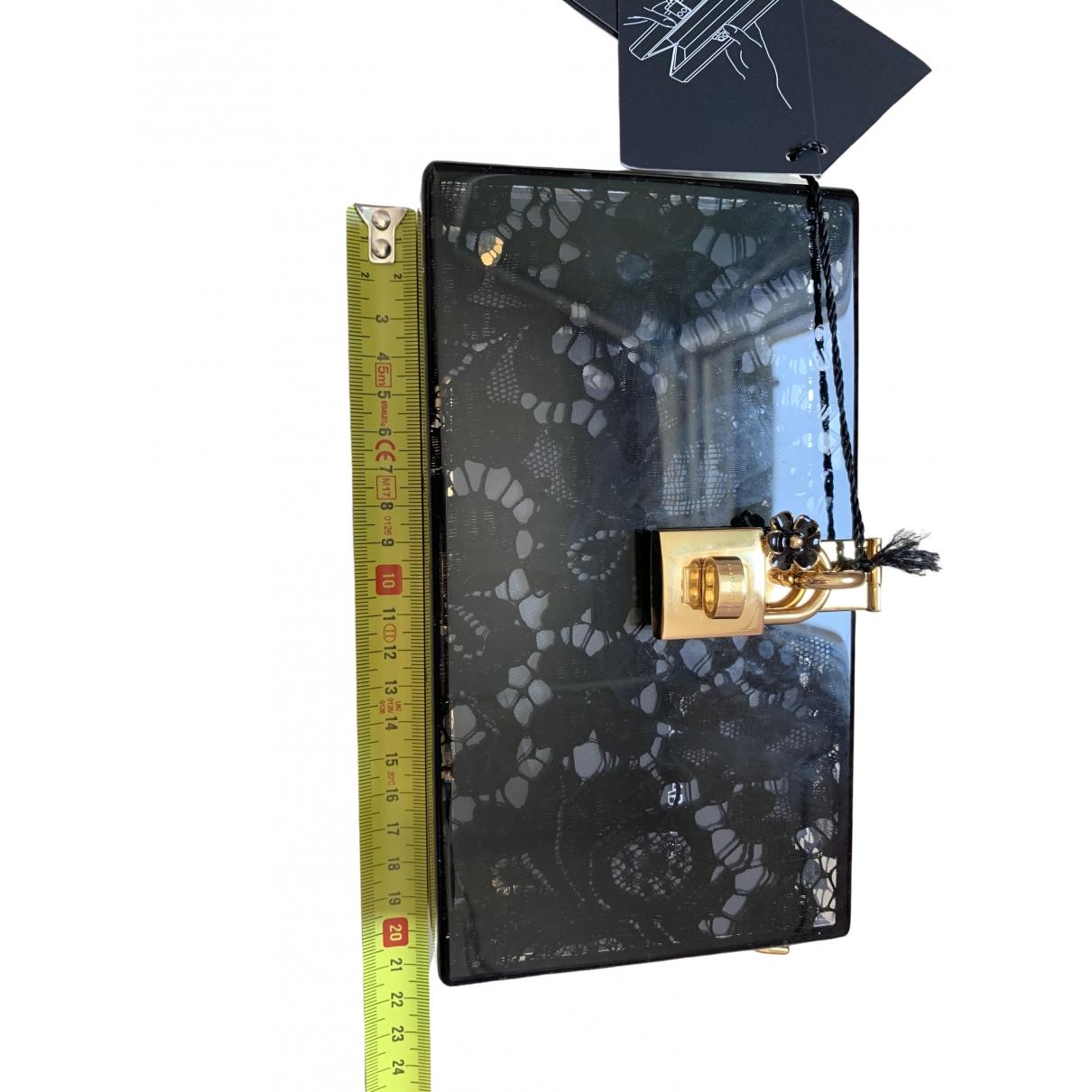 Dolce & Gabbana \N Clutch in  Schwarz Kunststoff