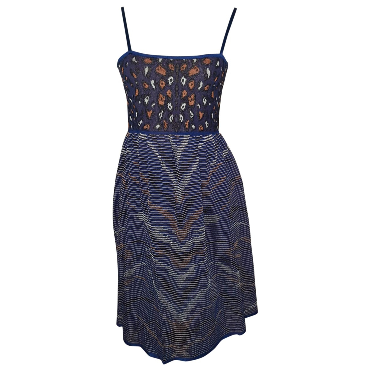 M Missoni \N Kleid in  Blau Viskose