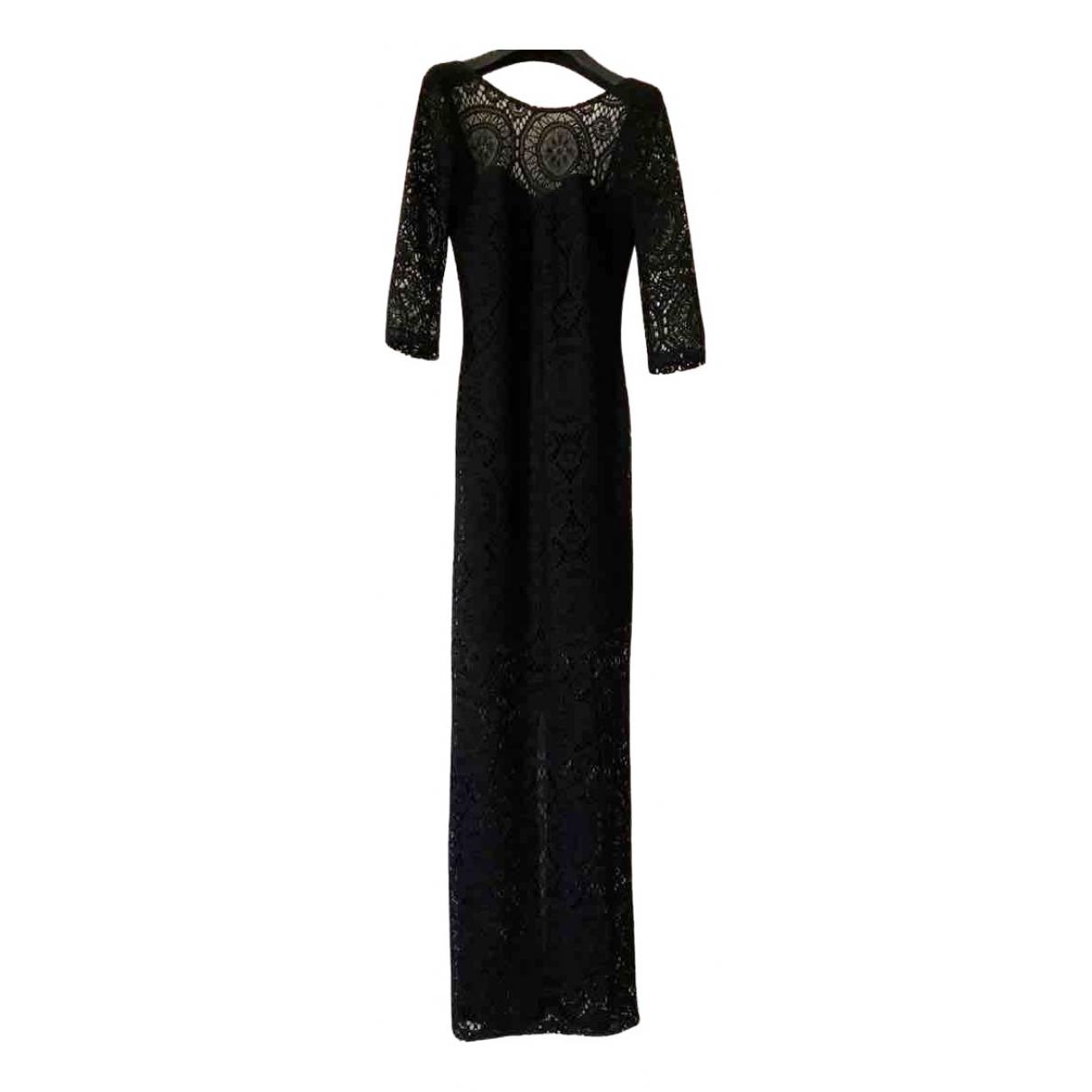 Asos \N Black Cotton - elasthane skirt for Women 8 UK