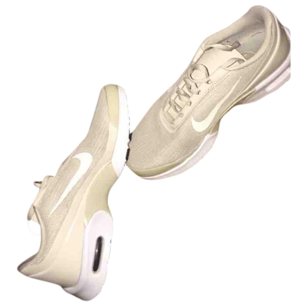 Nike - Baskets Air Max Plus  pour femme en caoutchouc - beige