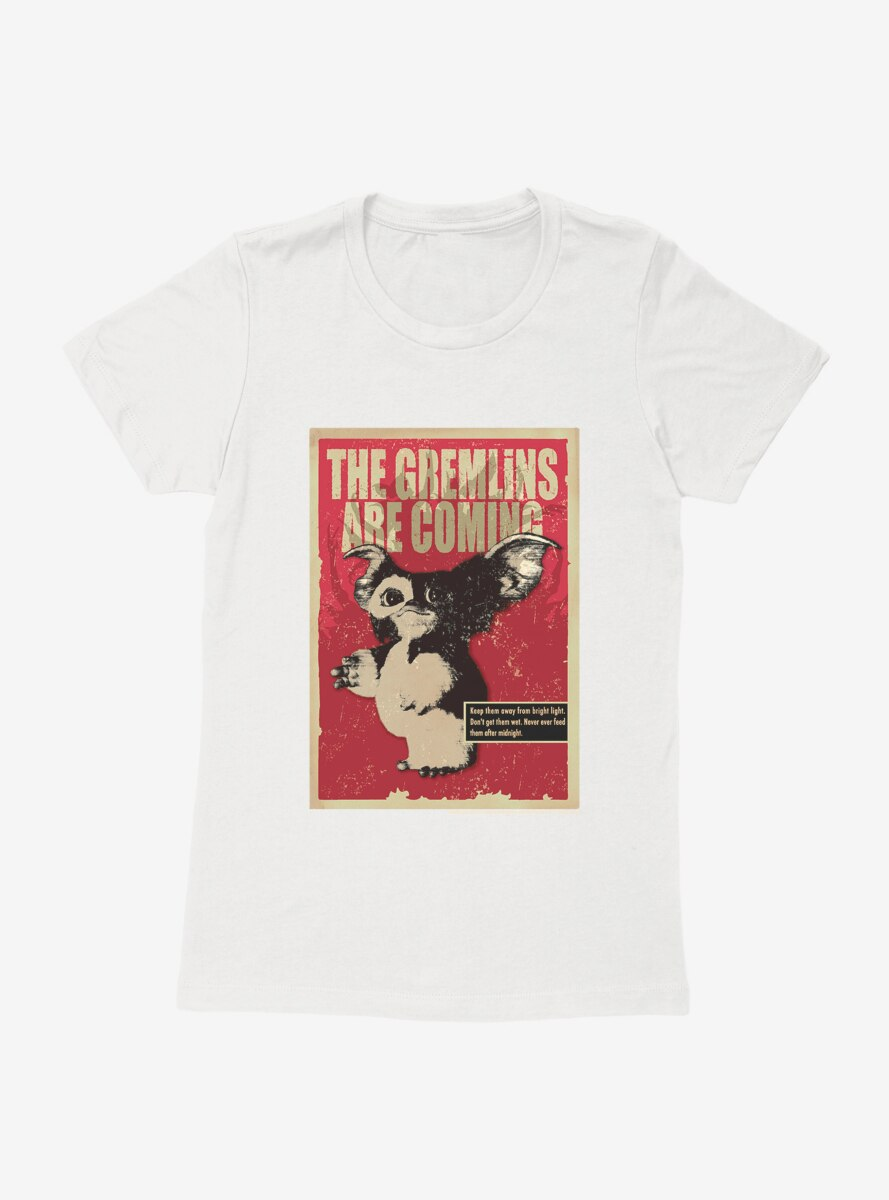 Gremlins They Are Coming Womens T-Shirt