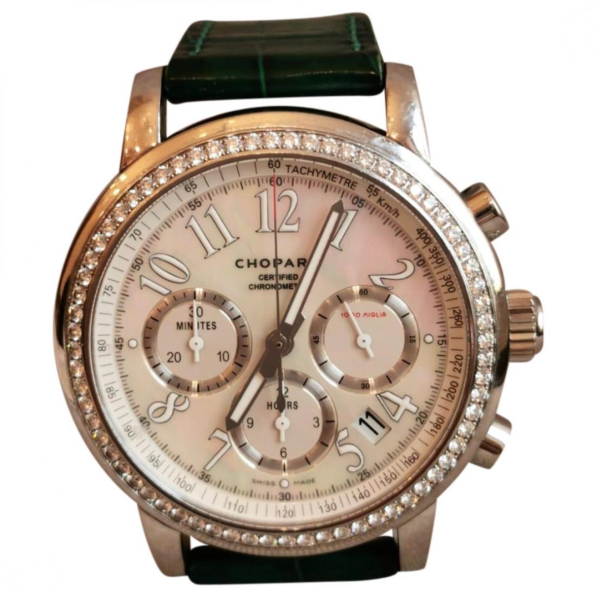 Chopard Mille Miglia Elton John Silver Steel watch for Women \N