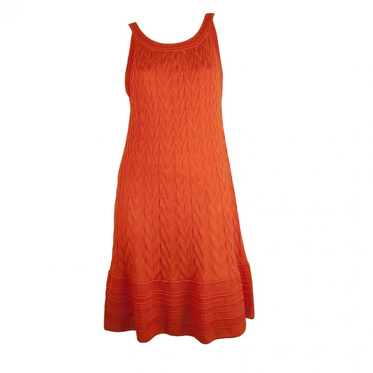 M Missoni \N Kleid in  Orange Wolle