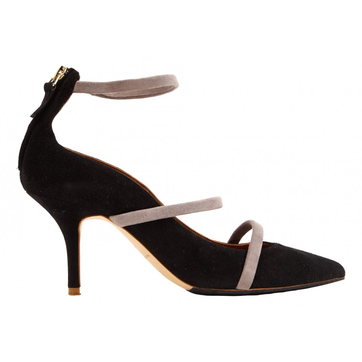 Malone Souliers \N Black Suede Heels for Women 36.5 EU