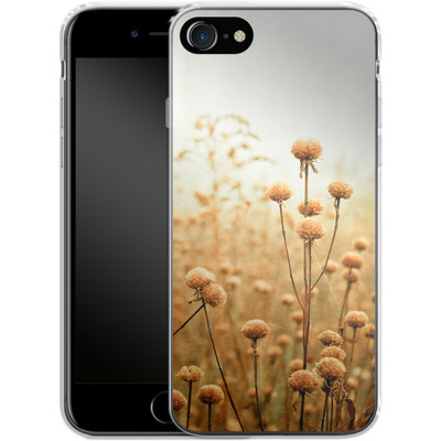Apple iPhone 8 Silikon Handyhuelle - Daybreak In The Meadow von Joy StClaire