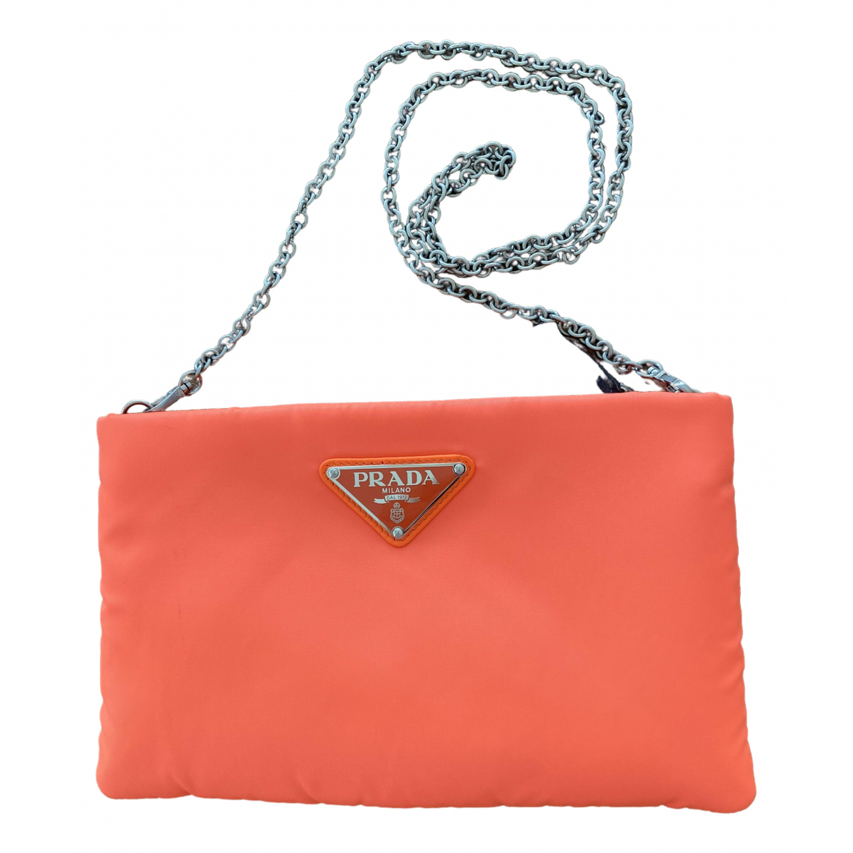 Prada - Sac a main   pour femme - orange