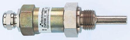 Electrotherm PT100 Sensor, -200°C min +300°C max, 45mm Probe Length x 9mm Probe Diameter