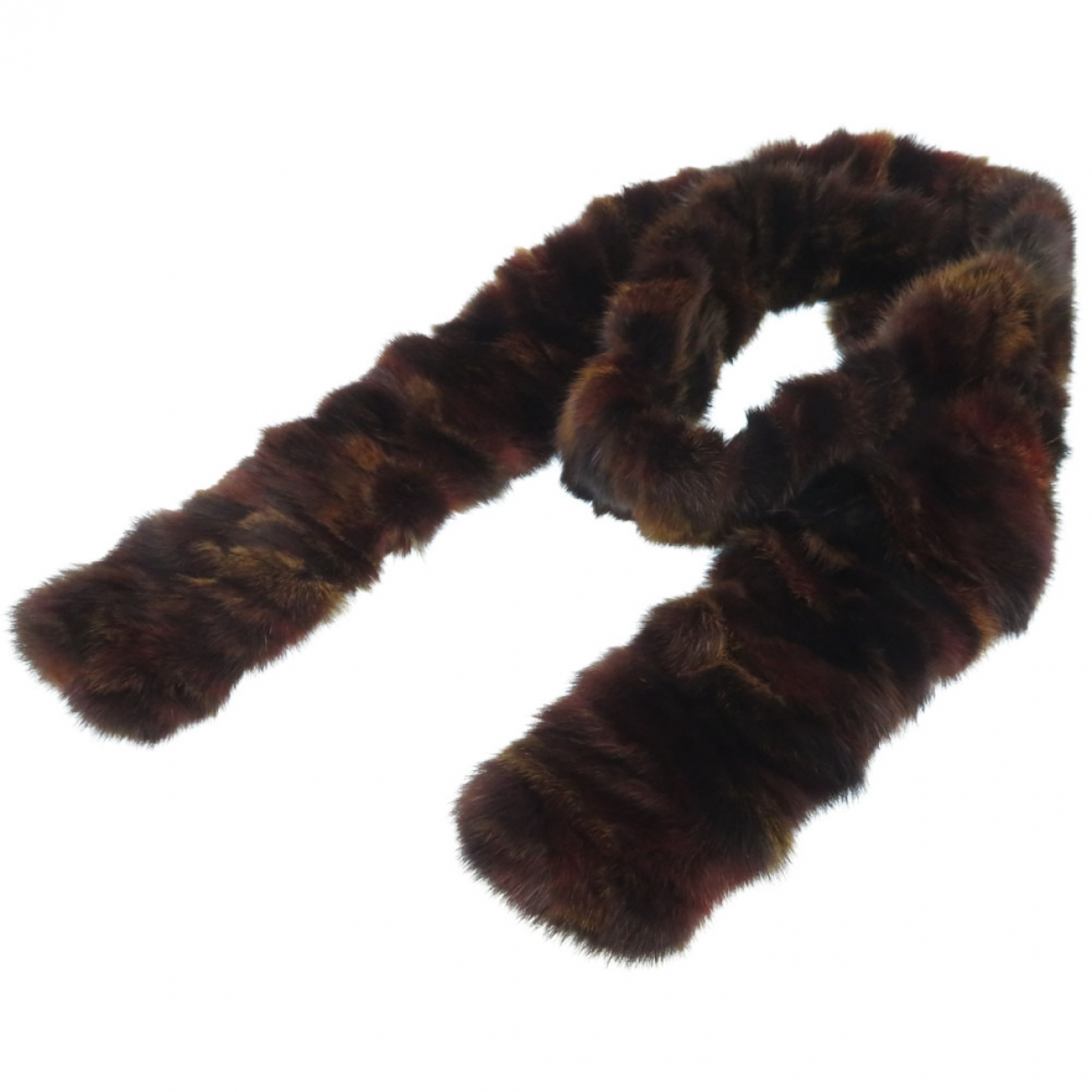 Fendi \N Brown Fur scarf for Women \N