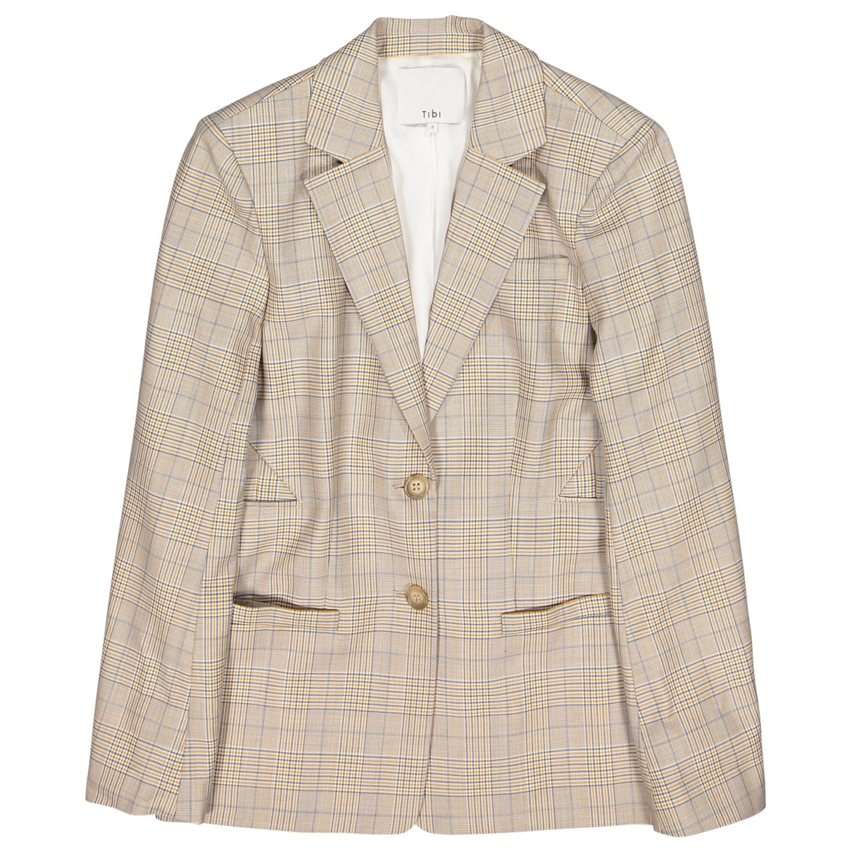 Tibi - Veste   pour femme en laine - beige