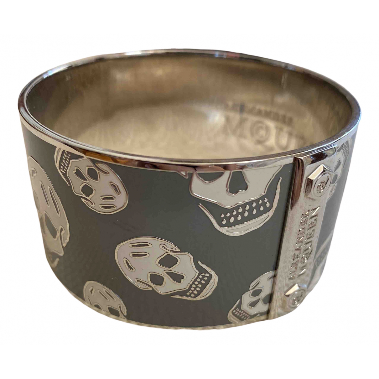 Alexander Mcqueen N Grey Metal bracelet for Women N