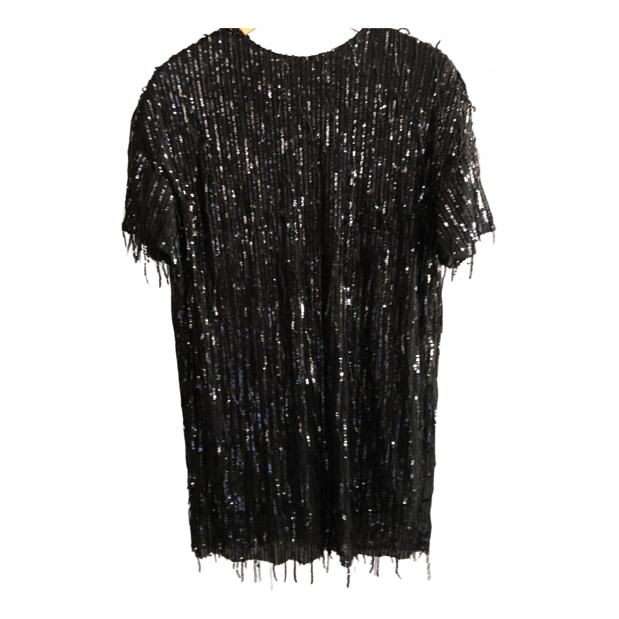 Zara \N Black Glitter dress for Women XS International