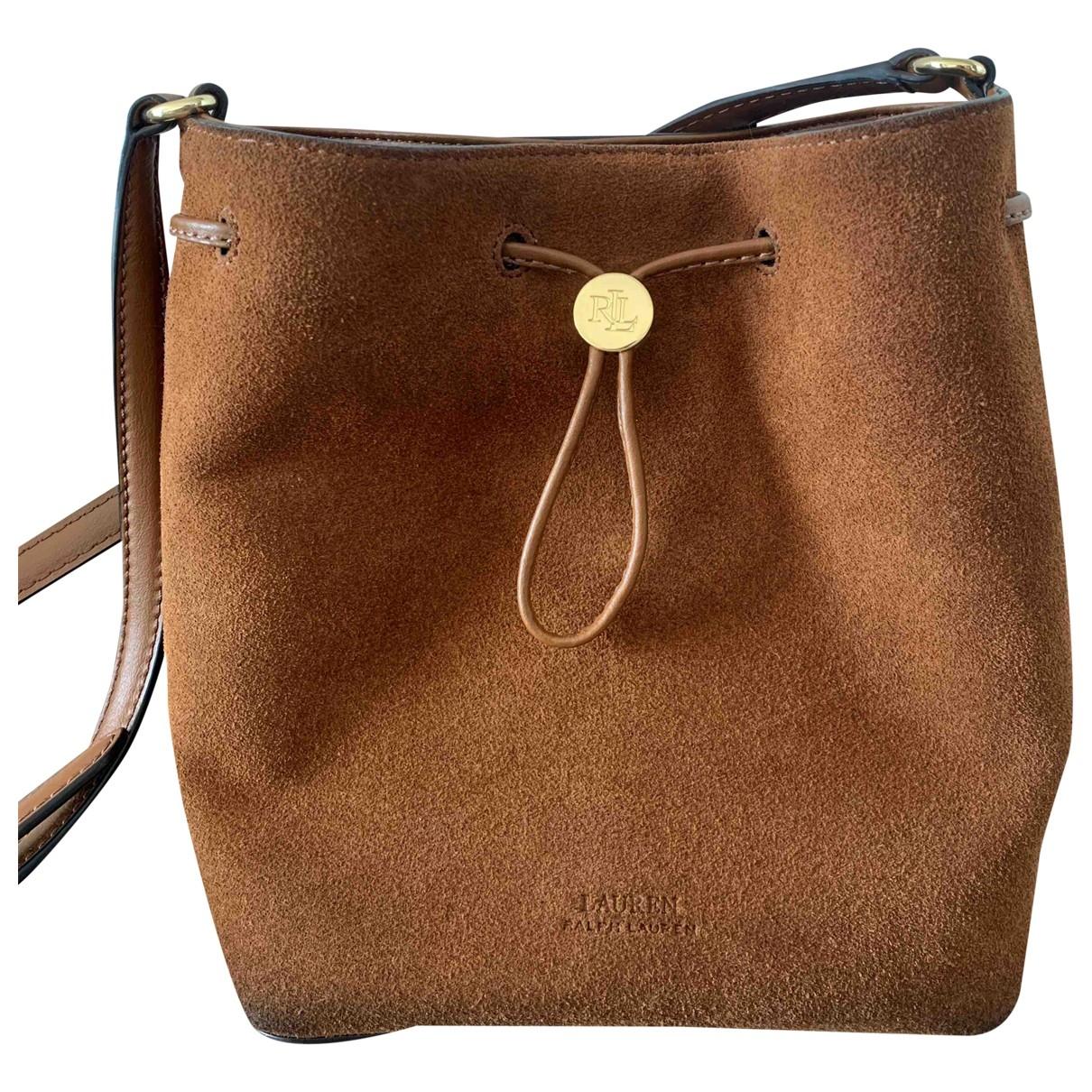 Lauren Ralph Lauren \N Camel Suede handbag for Women \N