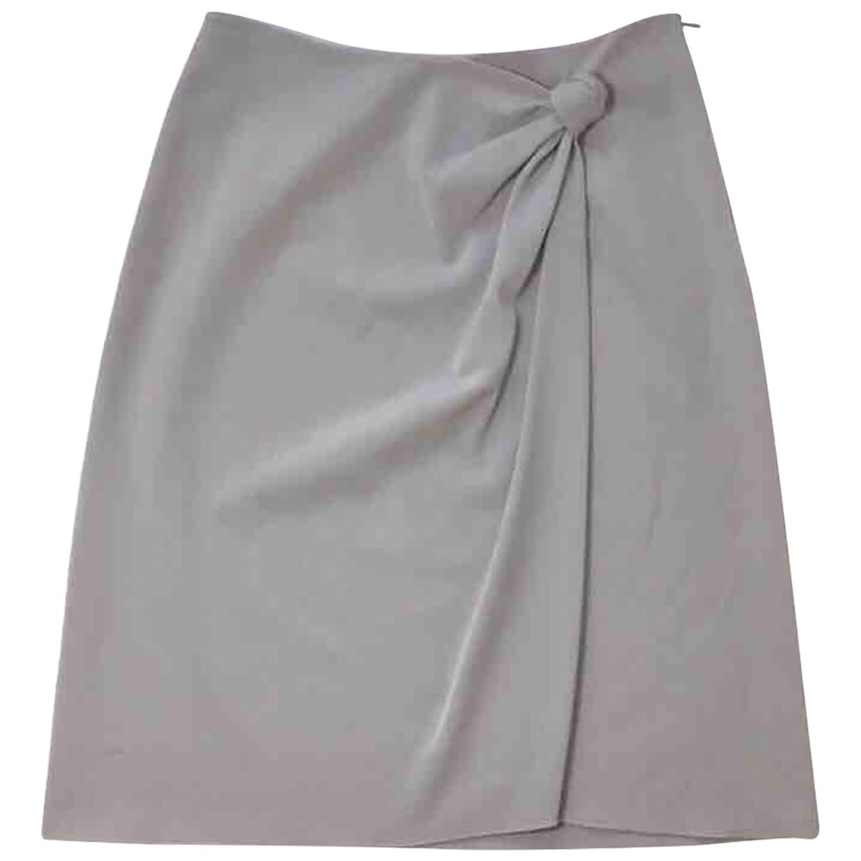Falda midi de Lana Emporio Armani