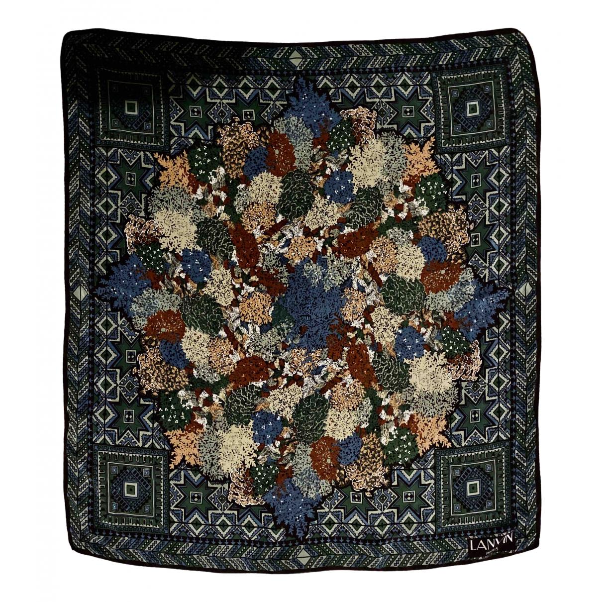 Lanvin \N Multicolour Silk Silk handkerchief for Women \N