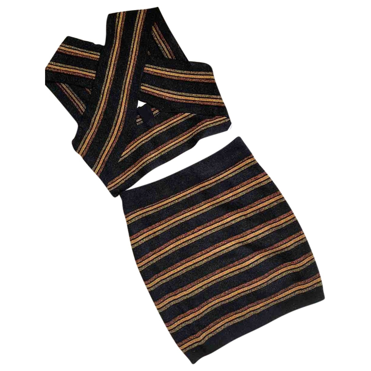 Balenciaga \N Kleid in  Bunt Polyester