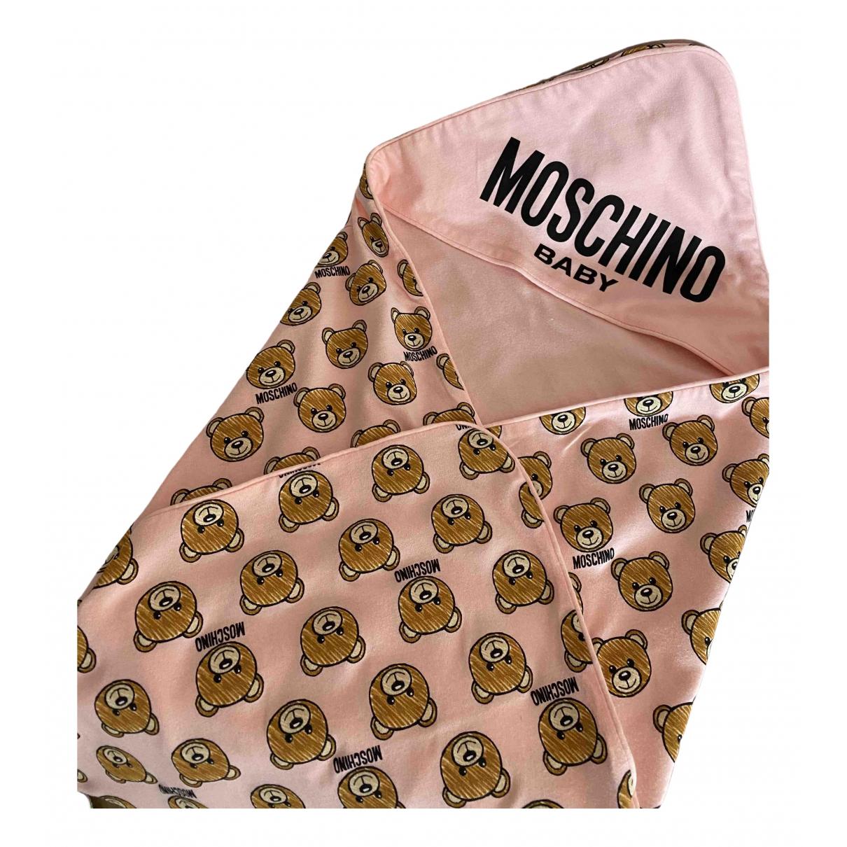 Moschino - Linge de maison   pour lifestyle en coton - rose