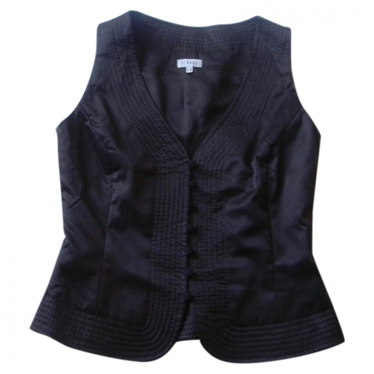 Louis Feraud \N Brown Silk  top for Women 38 FR
