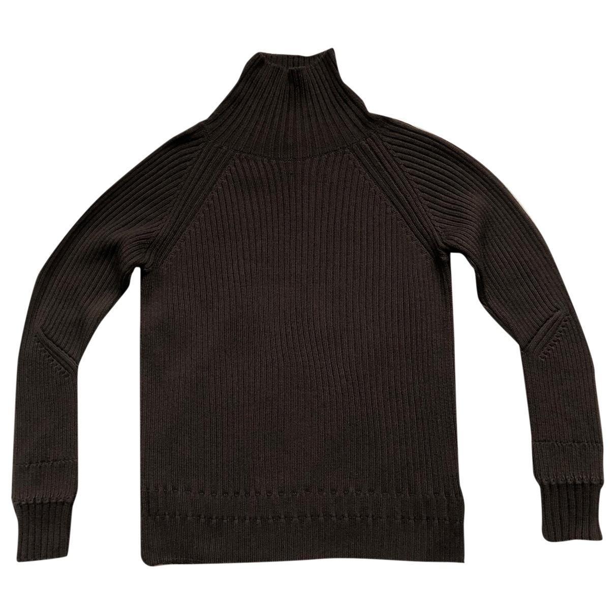 Jil Sander \N Brown Wool Knitwear for Women 42 FR