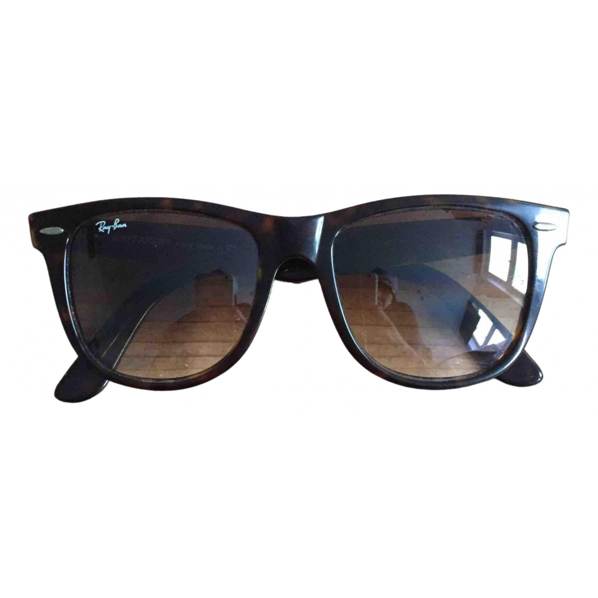 Ray-ban Original Wayfarer Brown Sunglasses for Women N