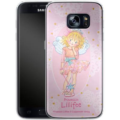 Samsung Galaxy S7 Silikon Handyhuelle - Prinzessin Lillifee Goldregen von Prinzessin Lillifee